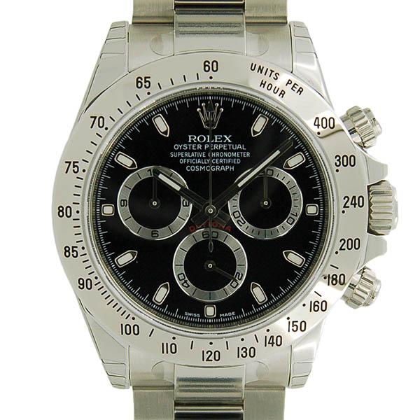 ロレックス ROLEX デイトナ 116520 ブラック G番 未使用品