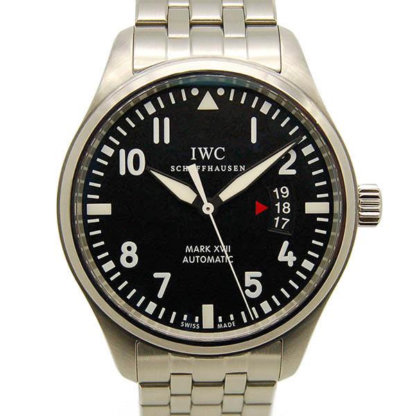 IWC マーク17 IW326504 SS ブラック 自動巻 41mm 中古 USED