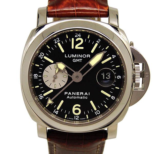 パネライ PANERAI ルミノールGMT 44mm PAM00088 ブラック USED 中古
