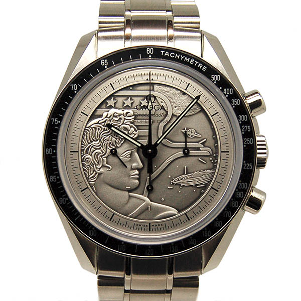 オメガ OMEGA スピードマスター アポロ17号40周年記念 311.30.42.30.99.002 世界1972本限定 未使用品