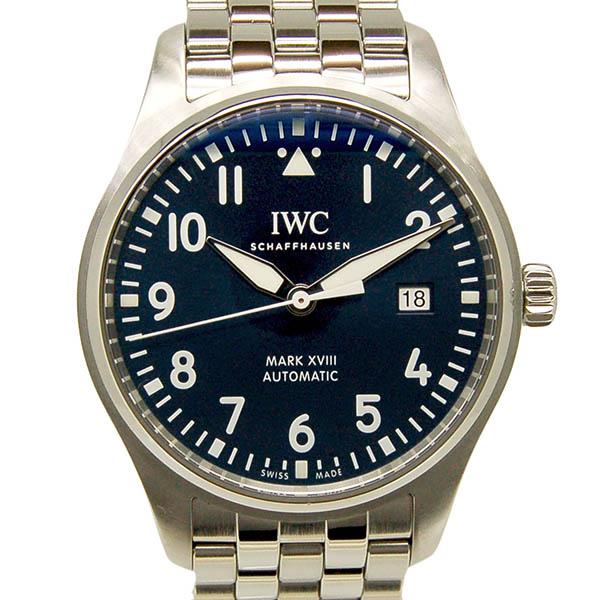 IWC パイロットウォッチ マーク18 プティ・プランス IW327014 ブルー 40mm USED 中古