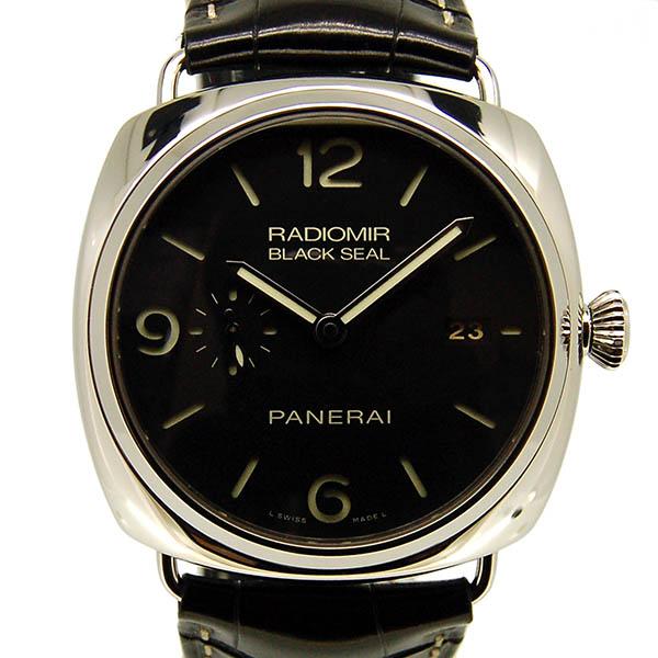 パネライ PANERAI ラジオミール ブラックシール 3デイズ PAM00388 ブラック 45mm USED 中古