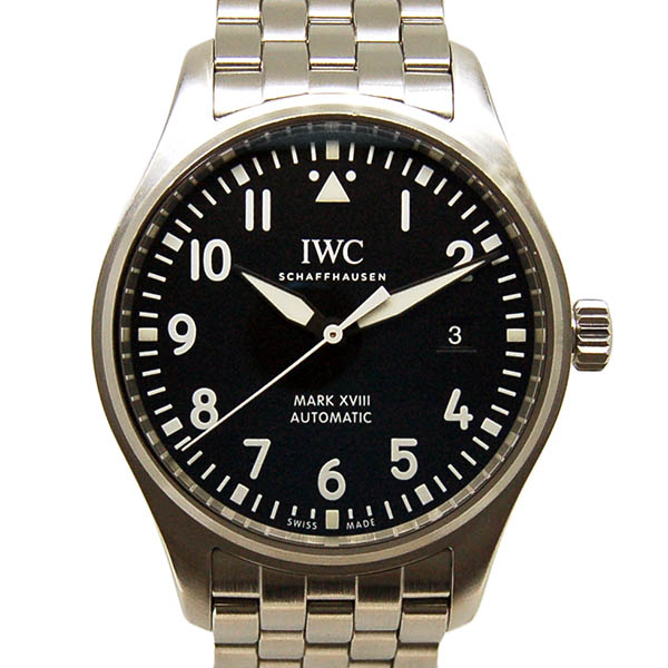 IWC パイロットウォッチ マーク18 IW327011 ブラック USED 中古
