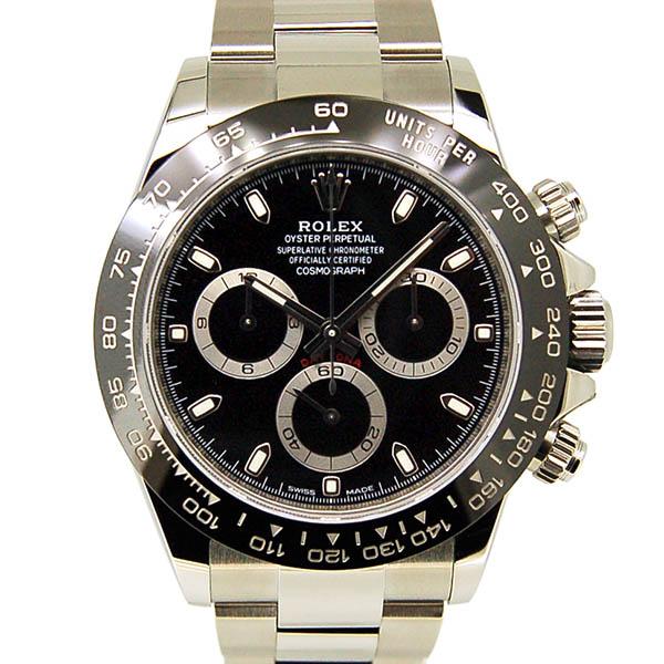 ロレックス ROLEX コスモグラフ デイトナ Ref.116500LN ブラック セラミックベゼル 国内正規 未使用品