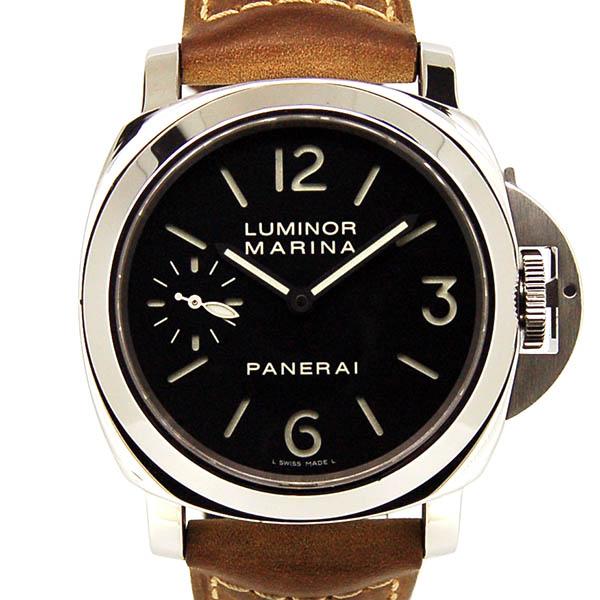 パネライ PANERAI ルミノールマリーナ PAM00111 手巻き 44mm 革ベルト USED 中古