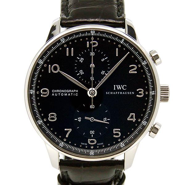 IWC ポルトギーゼ クロノグラフ IW371447 ブラック 41mm USED 中古