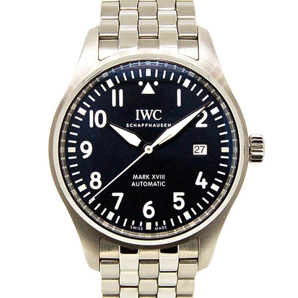 IWC パイロットウォッチ マーク18 プティ・プランス IW327004 ブルー 40mm USED 中古