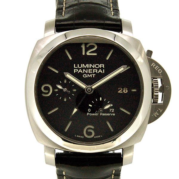 パネライ PANERAI ルミノール1950 3デイズ GMTパワーリザーブ PAM00321 44mm USED 中古