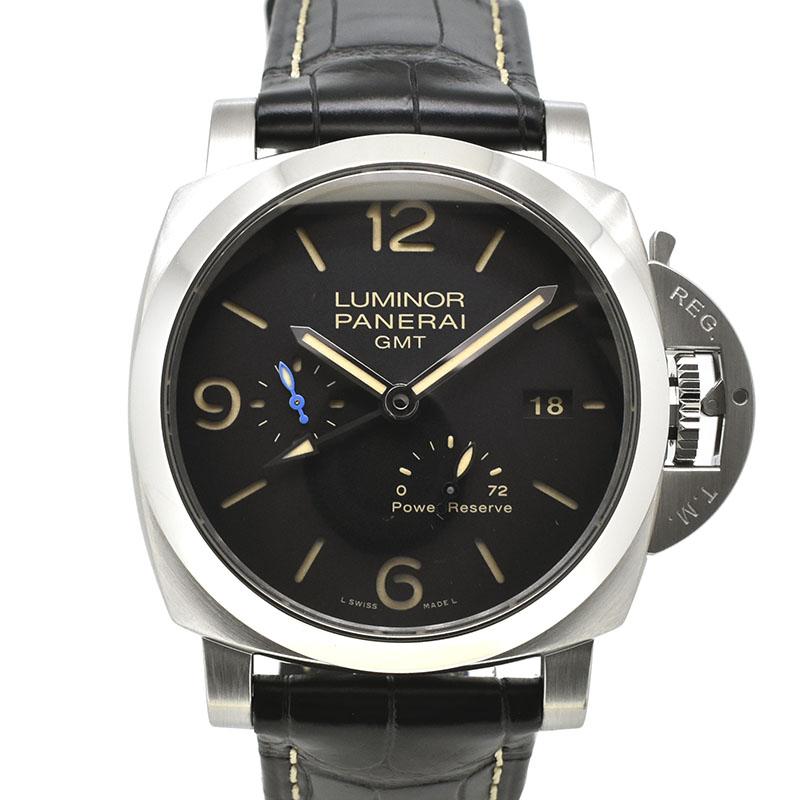 パネライ PANERAI ルミノール1950 3デイズ GMT パワーリザーブ アッチャイオ PAM01321 44mm USED 中古