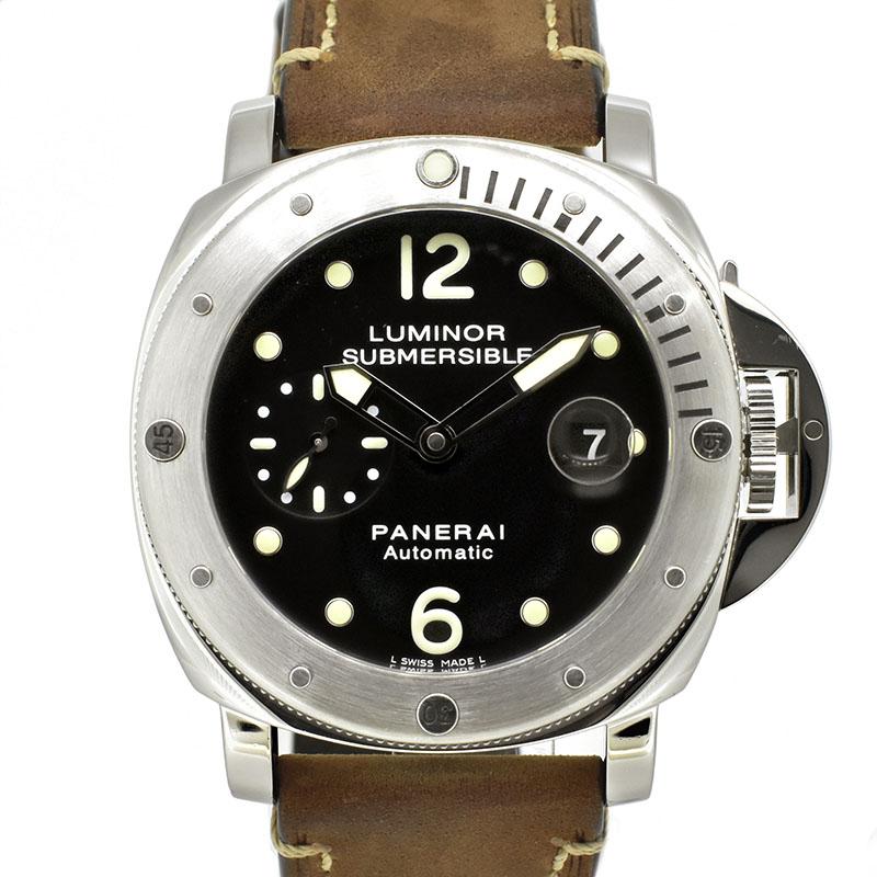 パネライ PANERAI サブマーシブル PAM00024 ブラック 44mm L番 USED 中古
