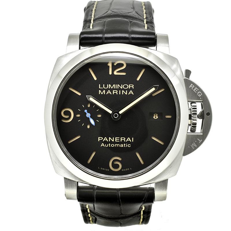 パネライ PANERAI ルミノールマリーナ1950 3デイズ オートマティック アッチャイオ PAM01312 44mm V番 USED 中古
