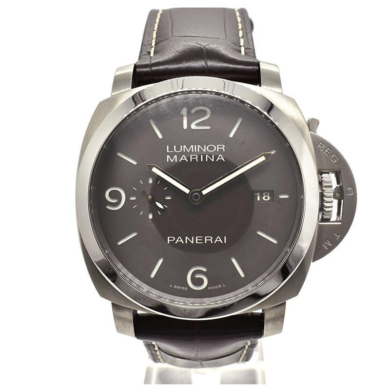 パネライ PANERAI ルミノール1950 3デイズ PAM00351 44mm チタン S番 USED 中古