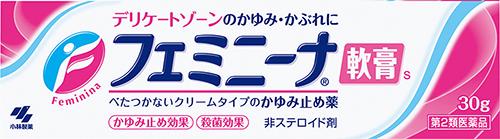 【第2類医薬品】小林製薬フェミニーナー軟膏S 30g