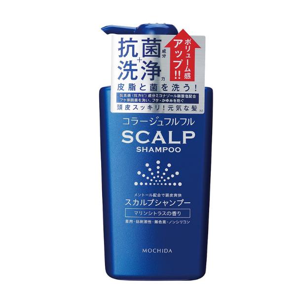 持田ヘルスケア コラージュフルフル スカルプシャンプー マリンシトラスの香り 360mL (医薬部外品)
