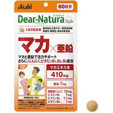 アサヒヘルスケア Dear-Natura マカ×亜鉛
