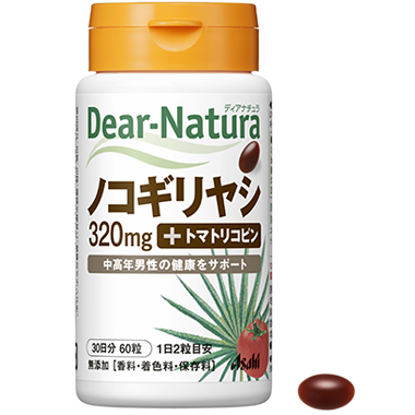 アサヒヘルスケア Dear-Natura ノコギリヤシ+トマトリコピン 120粒