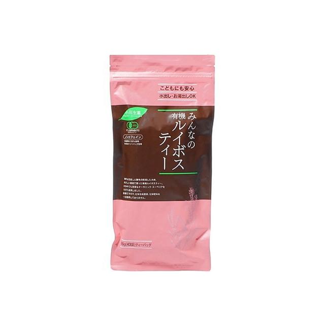 小川生薬 みんなの有機ルイボスティー 43袋(86g)