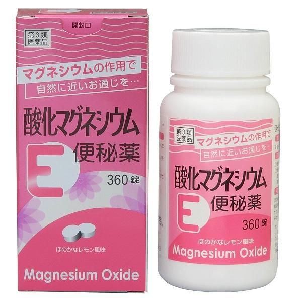 【第3類医薬品】 健栄製薬 酸化マグネシウムE便秘薬 360錠
