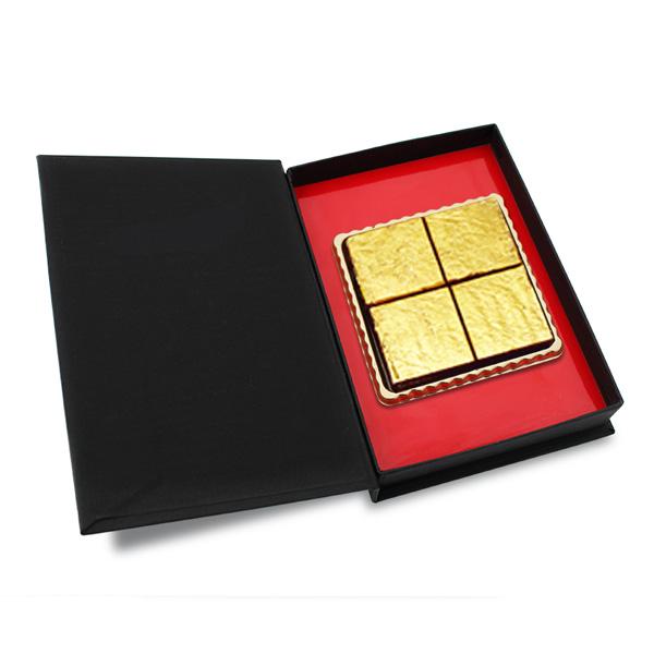 純金箔生チョコレート 4個入