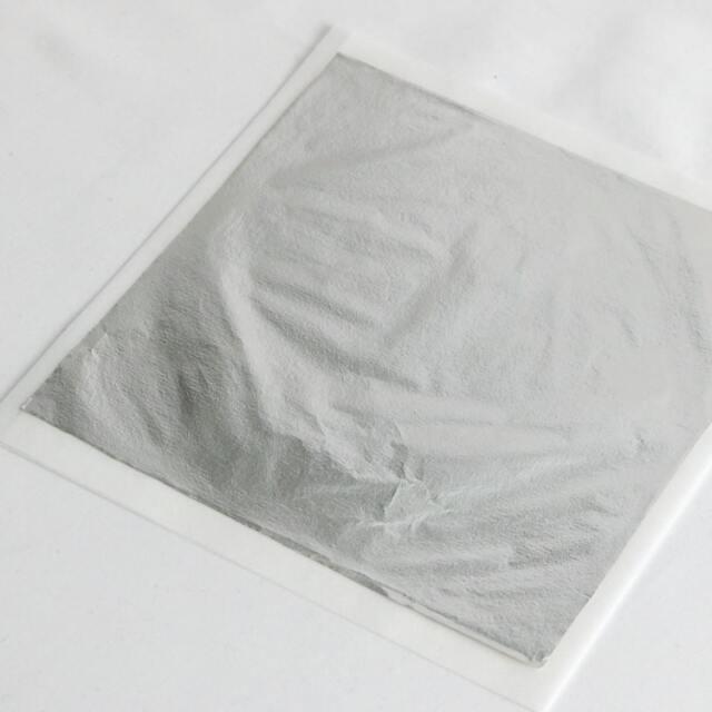 純銀上澄 約150mm角 約4マイクロメートル