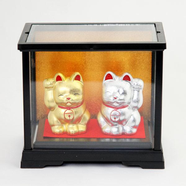 招き猫(金銀セット)
