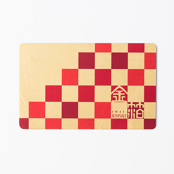 オーダーメイド 金箔カードミラー(30枚セット)