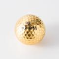 オーダーメイド 金箔ゴルフボール HOLE IN ONE(10個セット)