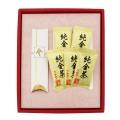 金箔花+幸運富茶セット