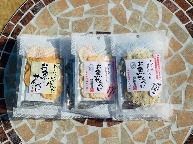 【小豆島クラシコ】 お魚せんべい詰め合わせ 6個入