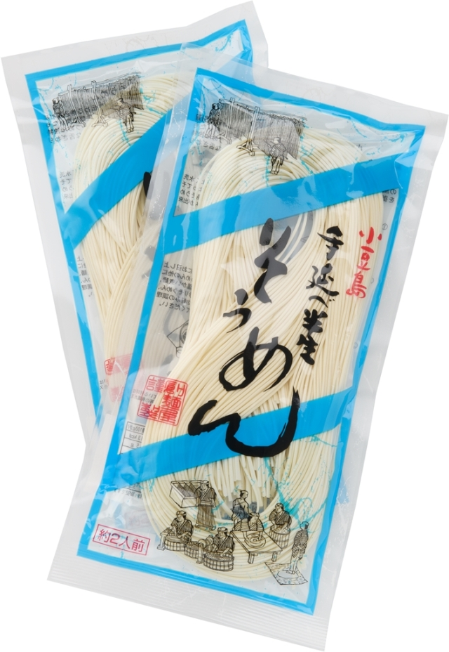 【小豆島クラシコ】 手延べ半生素麺12袋セット