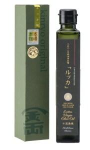【2020年収穫分】小豆島産100パーセント EXバージンオリーブオイル緑油 (ルッカ単品種) 180g