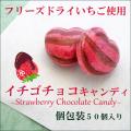 イチゴチョコキャンディ 50個入り(ハートのかたち) お試し特別限定価格