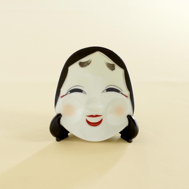 【和食器通販 金照堂】有田焼・幸楽窯 お福さん皿