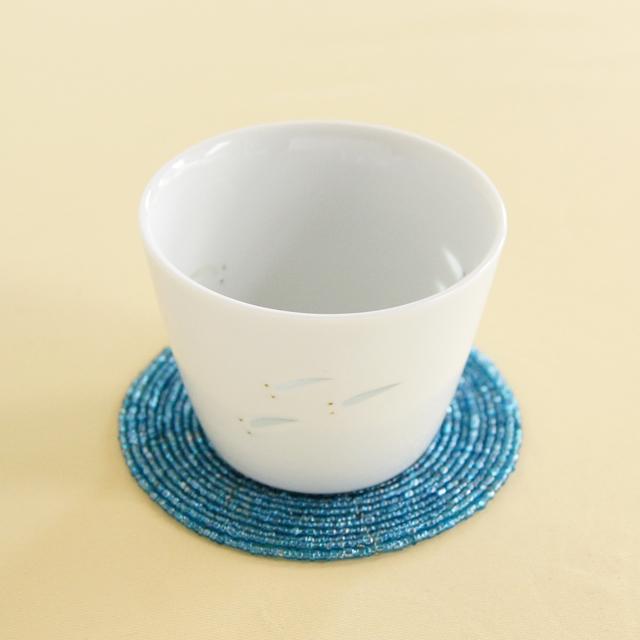 【和食器通販 金照堂】光春窯 ホタルメダカカップ(小)