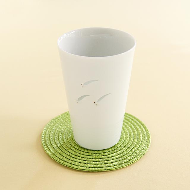 【和食器通販 金照堂】光春窯 ホタルメダカビアカップ