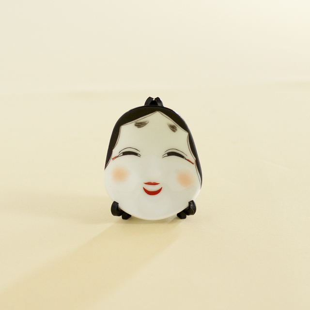 【和食器通販 金照堂】有田焼・幸楽窯 お福さん箸置き