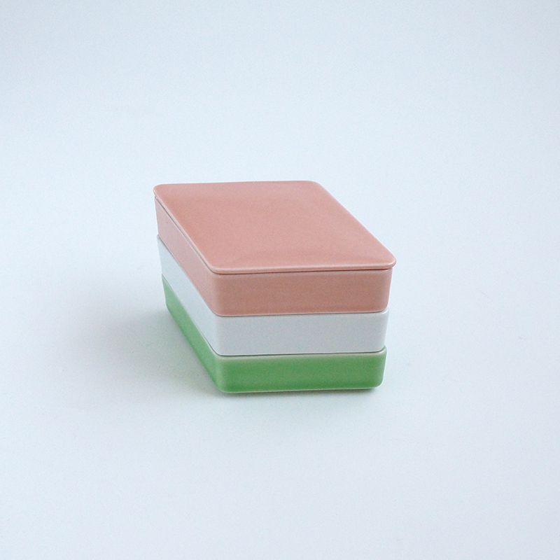 三色菱餅 三段重