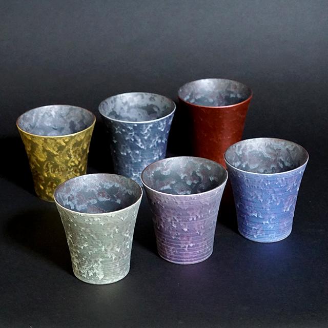 【和食器通販 金照堂】  麟 Lin(りん) ロックカップ(6色)