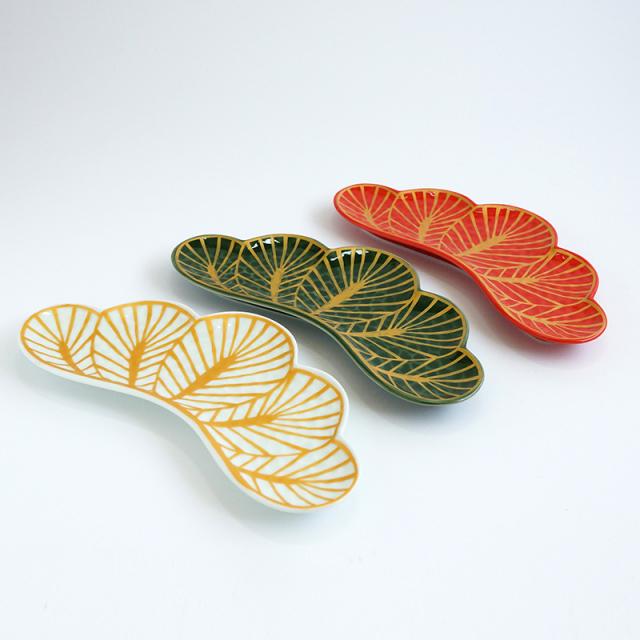 松葉型前菜皿