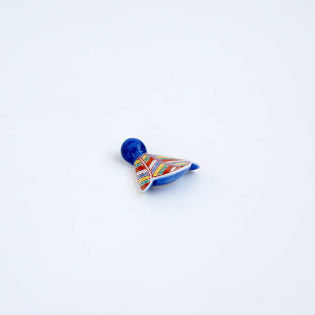 錦矢絣 箸置