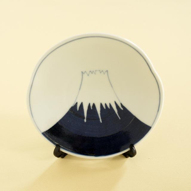 陶房青 富士山飾皿
