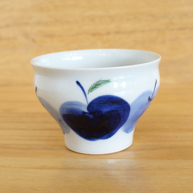 【和食器通販 金照堂】 波佐見焼 敏彩窯 りんご園仙茶