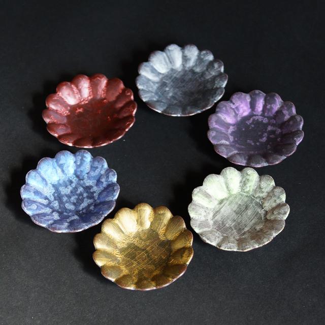 【和食器通販 金照堂】 lin (りん) シリーズ有田 金善窯 花型 豆皿