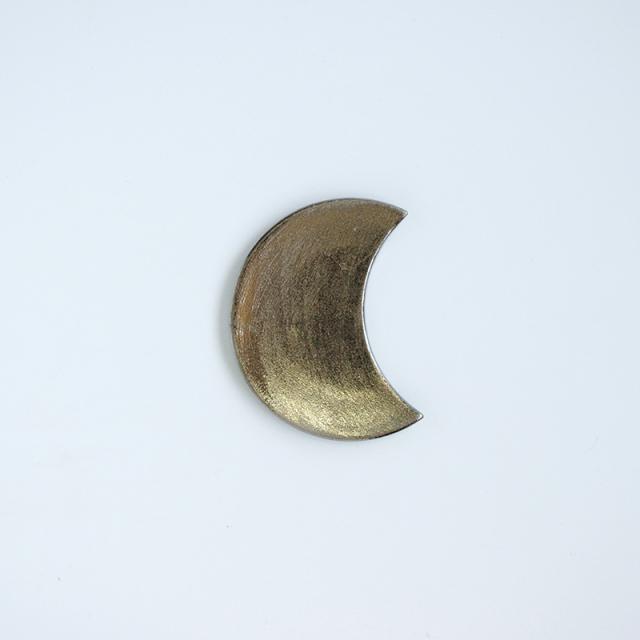 錦半月 手塩皿 (銀)