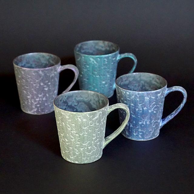【和食器通販 金照堂】  麟 Lin(りん) マグカップ(4色)