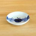 【和食器通販 金照堂】 波佐見焼敏彩窯 りんご園古代8寸皿
