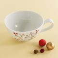 陶房青スープカップ木の実