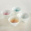 【和食器通販 金照堂】 藤巻製陶  プラティ ティボウル・カップ(4色)