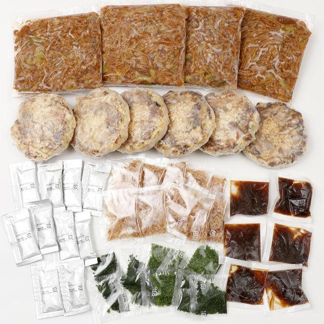 お試しハーフ豚玉 6食+もちもち太麺ソース焼そば4食入りセット