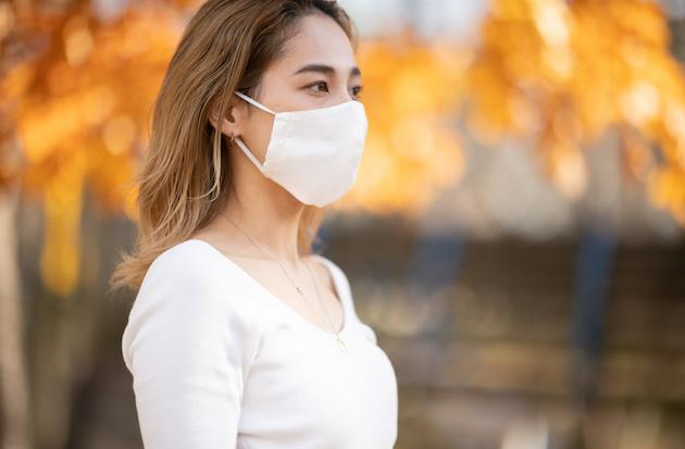 シルク立体マスク